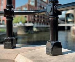 Ferrocast Berwick has high abrasion resistance