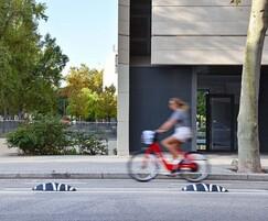 Zicla Zebra Zero for cycle lane segregation