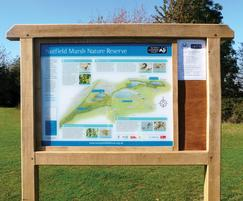 Cohesion noticeboard sign