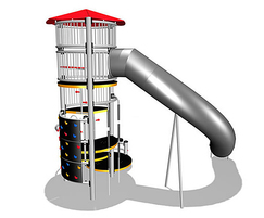 Youthzone Meet and Slide tower