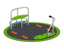 Non slip surface. Wheelchair friendly