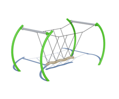 Cantilever arch support system- powder coated steel