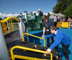 Fully inclusive play area for school