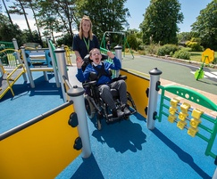 Inclusive play area for Bleasdale School