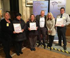 Sutcliffe Play: Sutcliffe Play wins award for Maple Park, Ipswich
