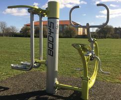 Romper outdoor gym equipment