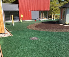 Playground area for children's cancer support centre