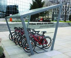 Edge - bicycle shelter