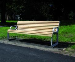 Portiqoa - Park Bench - Burgess Park