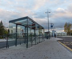 Passenger waiting shelters - bus interchange