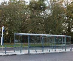 Bus shelter - University of Warwick interchange