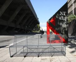 Limpido seating outside National Theatre, London