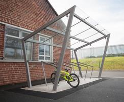 Cycle shelter - Donaghadee Primary School