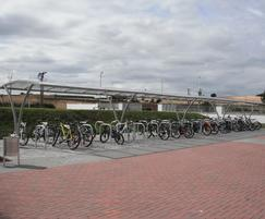 Cycle parking and shelters at school