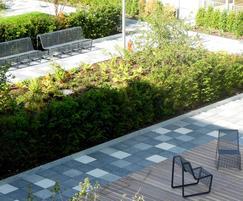 Mmcité Limpido outdoor seating, Streatham