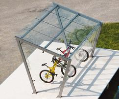 Mmcité Edge cycle shelters from ESF