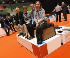Environmental Street Furniture: Solar powered Stellar Bench wins Product of Show award