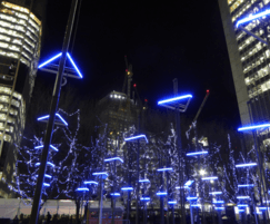 Environmental Street Furniture: ESF helps light up London during Winter Lights Festival