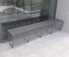 Limpido benches for the Cork Fire Department