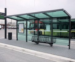Aureo bus shelter
