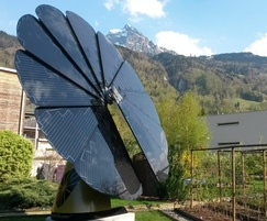 SmartFlower intelligent solar energy system