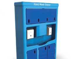 HydroPod hand washing station can also be used indoors