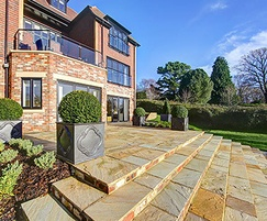Landscaping and specimen trees, luxury homes, Reigate
