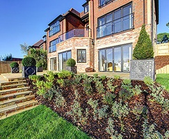 Landscaping and rolling lawns for luxury homes, Reigate