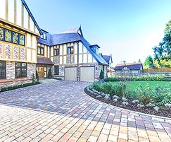 Hard landscaping for luxury homes, Reigate