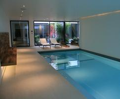 Underground pool, Chelsea town house