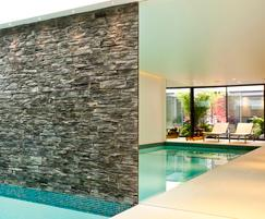Underground swimming pool, Chelsea town house