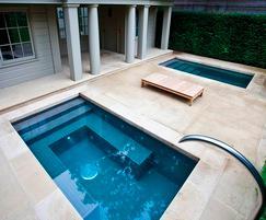 Twin Spa Plunge Pools Victorian Villa Notting Hill