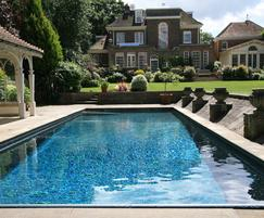 Twin spa plunge pools victorian villa notting hill - Domestic swimming pools ...