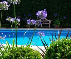 Classic design outdoor pool