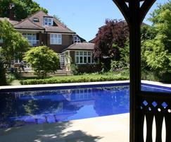 Sapphire outdoor pool - design & build