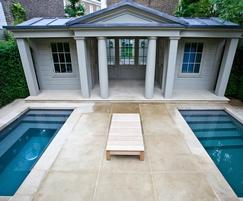 Hot and cold plunge pools - design & build