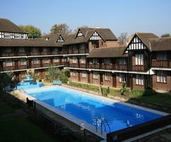 Communal pool at Brixton development  - refurbishment