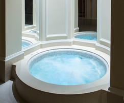 Award-winning bespoke GRP spa