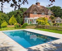 Luxury modular stainless steel pool