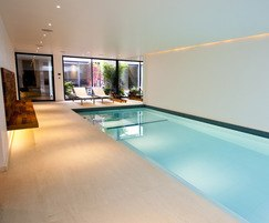 Luxury basement pool
