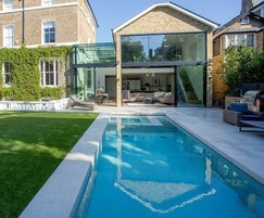 Bespoke outdooor pool and hydrotherapy spa