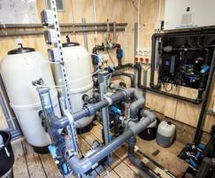 Innovative pool & spa plantroom uses minimum space