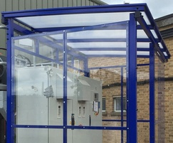 Winterbourne enclosed shelter for machinery