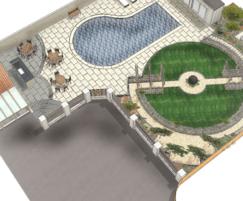 Detailed design of landscaping scheme