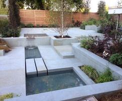 Domestic garden installation