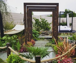 Timotay Landscapes: Silver for Asian-inspired garden at BBC Gardeners' World