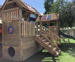 Playground design and installation for SEND school