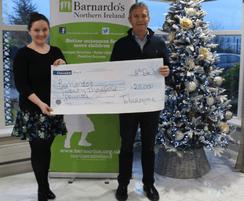 Tobermore: Tobermore donates to Barnardo's Christmas Appeal