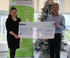 Tobermore: Tobermore's £20,000 Christmas donation to Barnado's