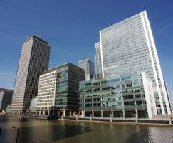 Air conditioning, Clifford Chance HQ, Canary Wharf - TROX UK